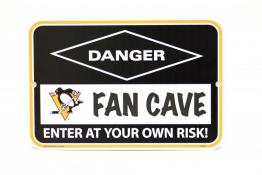 Pittsburgh Penguins Fan Cave Sign