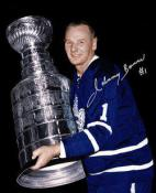 Johnny Bower Autographed 8x10 photo