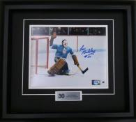 Les Binkley Autographed Framed Photo