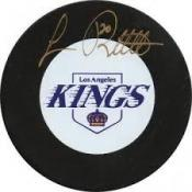 Luc Robitaille Autographed Puck