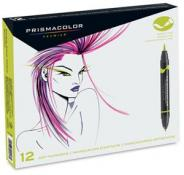 Prismacolor Brush Art Markers 12 Pack