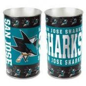 San Jose Sharks WasteBasket