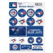 Toronto Blue Jays 5x7 Sticker Sheet