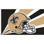 New Orleans Saints 3′ x 5′ Flag