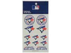 Toronto Blue Jays Tattoo Sheet