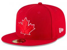Toronto Blue Jays New Era MLB Authentic Collection Red 59FIFTY Fitted Cap