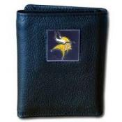 Minnesota Vikings Leather Wallet